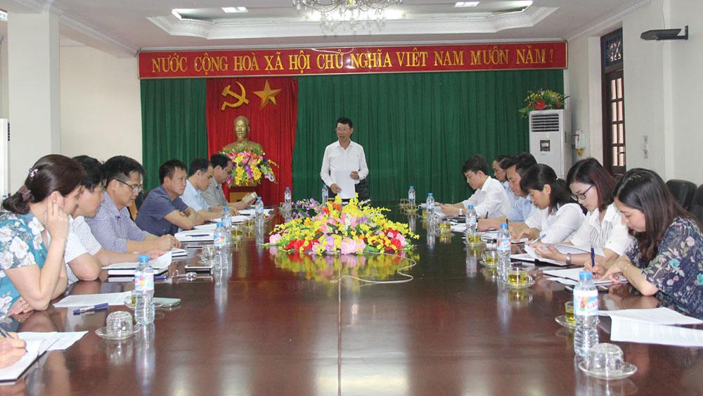 Phó Chủ tịch UBND tỉnh Lê Ánh Dương kiểm tra việc thực hiện kế hoạch phát triển du lịch huyện Tân Yên